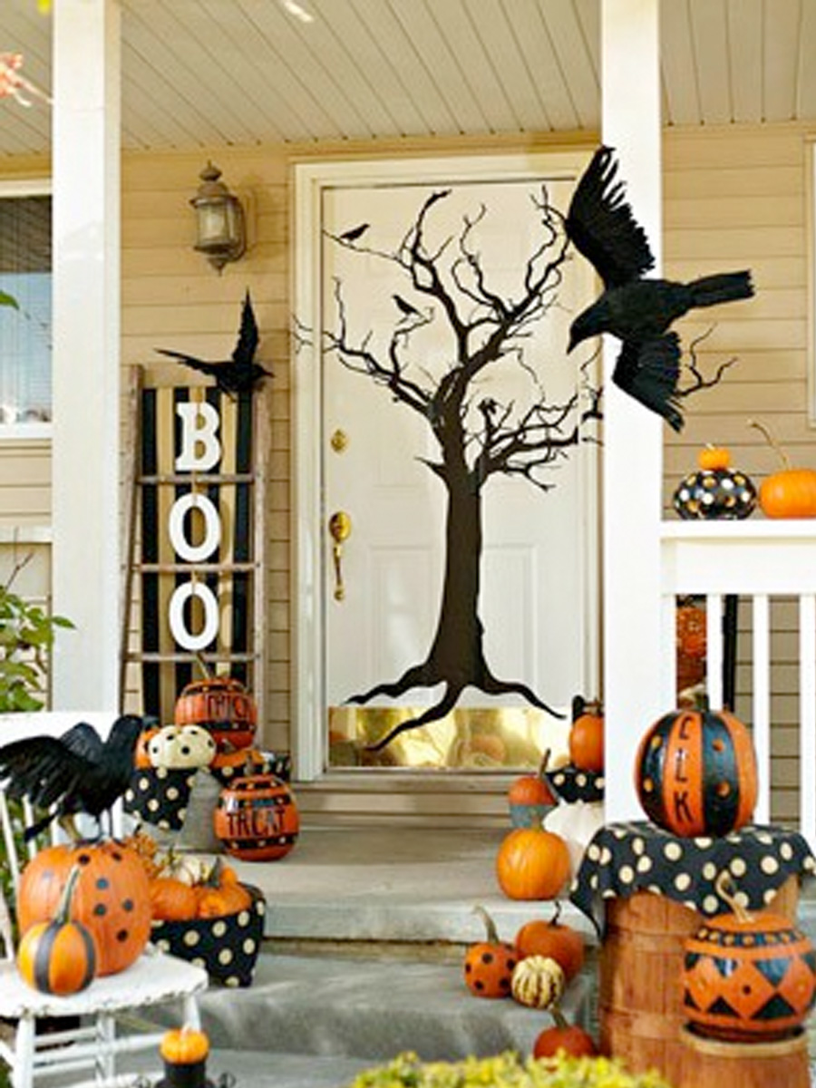 the finishing touches weekend inspiration welcoming fall front entry - Outdoor Pumpkin Decorations
