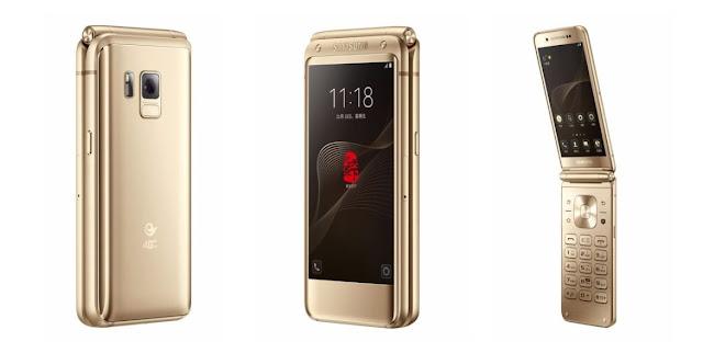 Samsung W2017 Full Spesifikasi dan Harga Terbaru, Smartphone Flip Premium Dual Layar Harga tinggi