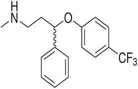 الصيغة الكيميائية لـ دواء بروكسيتين PROXETIN