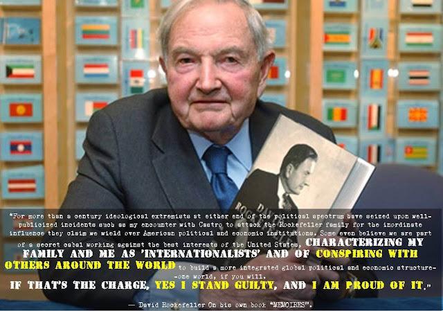 Informasi Depopulasi Manusia: biografi David Rockefeller