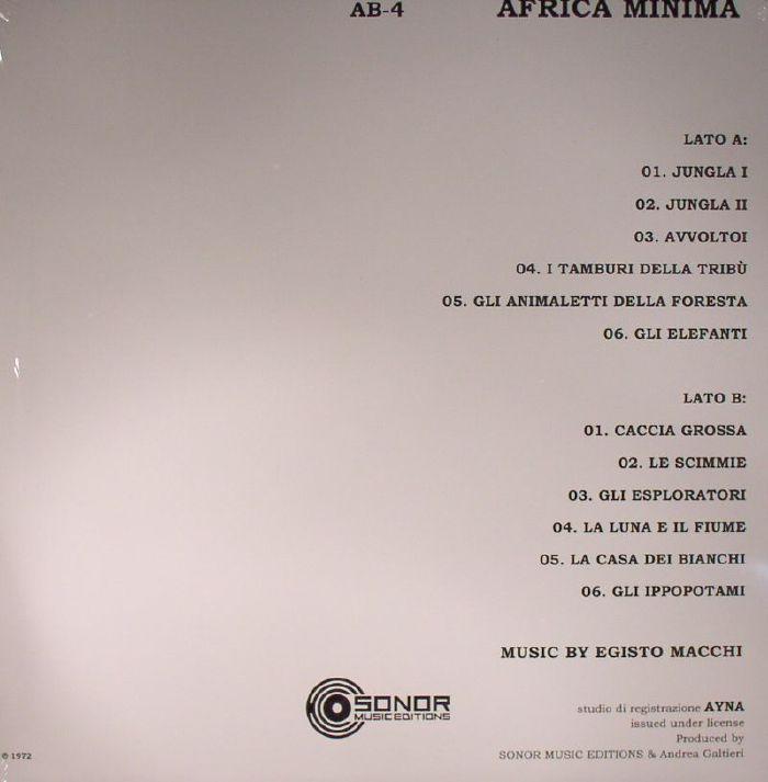 CENTRAL DO PROG: Egisto Macchi – Africa Minima (1972, LP, Italy)
