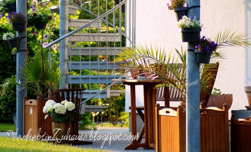verliebt in zuhause terrassengestaltung mediterane. Black Bedroom Furniture Sets. Home Design Ideas