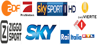 DE Sky Sports usa NBA NFL Premium ITALY Calcio Mag250