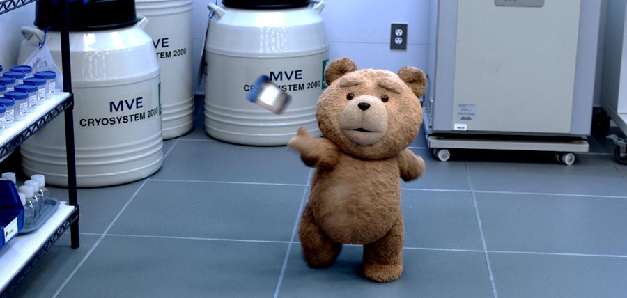 Seth MacFarlane este vocea inconfundabilă a ursuleţului Ted