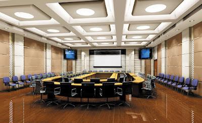 Nội thất phòng họp lớn sang trọng