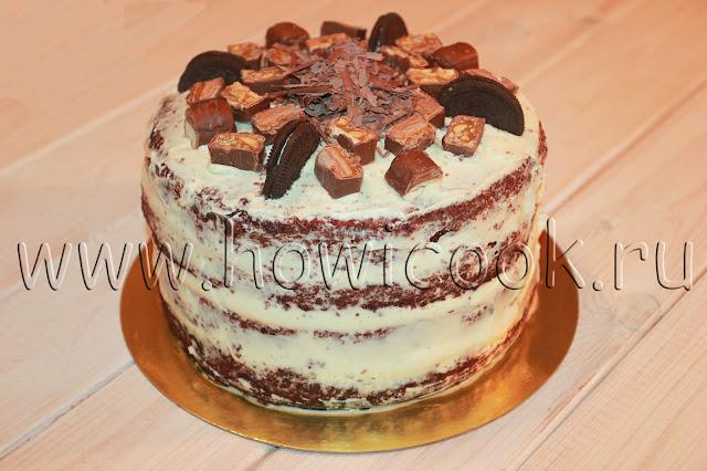 рецепт торта темный ларри