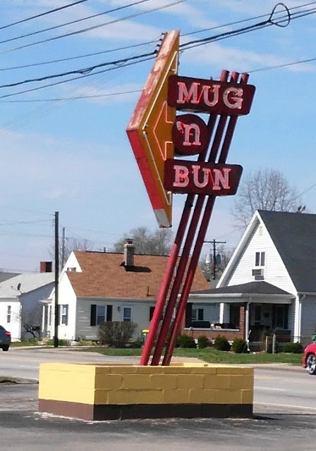Mug N' Bun Drive in Restaurant Speedway Indiana things do places to eat