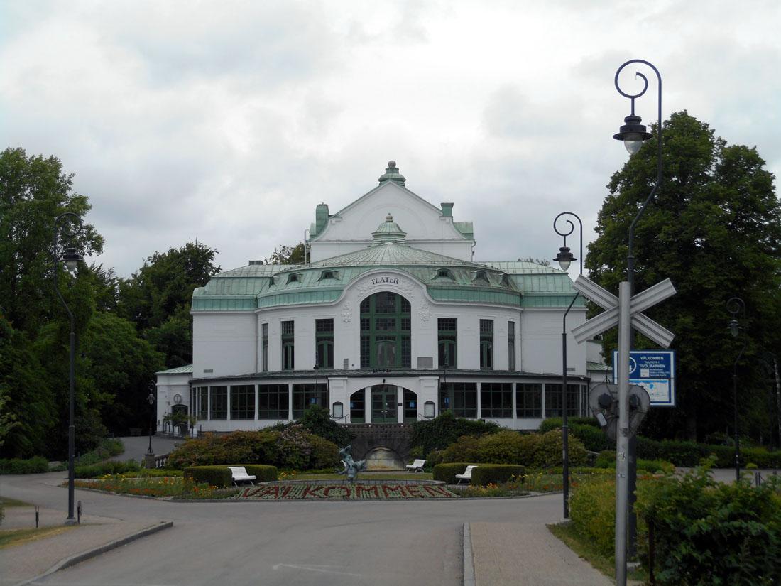 Il teatro di Kristianstad