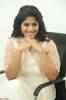 Megha Akash in beautiful Cream Transparent Anarkali Dress at Pre release function of Movie LIE ~ Celebrities Galleries 026.JPG