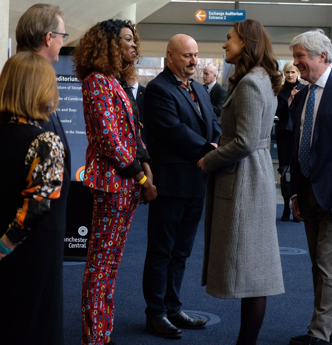 Kiss FM presenter Adelle Onyango is a happy woman after she got to meet the Royal Family during a summit in Manchester.