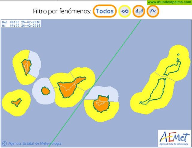 El Cabildo activa el Plan Insular de Emergencias de La Palma (PEINPAL) para este domingo
