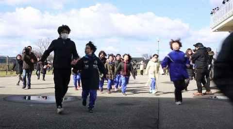 Khawatir Korut Lepas Rudal, Jepang Adakan Latihan Evakuasi