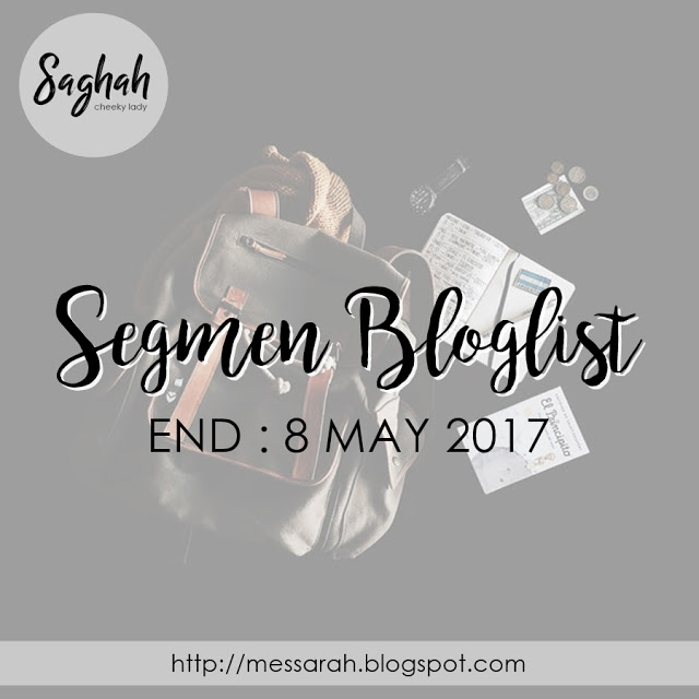 Segmen Bloglist by Saghah