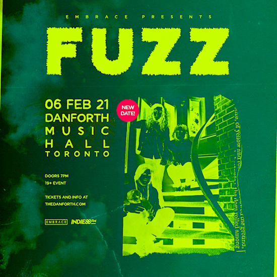 FUZZ @ Danforth Music Hall, Feb 6
