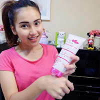 Testimoni Pemakaian Fair N Pink Whitening Body Serum 160ML Asli Murah Artis Ayu TingTing