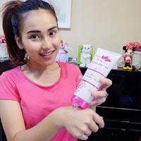 Testimoni Pemakaian Fair N Pink Whitening Body Serum 160ML Asli Murah Artis Ayu TingTing