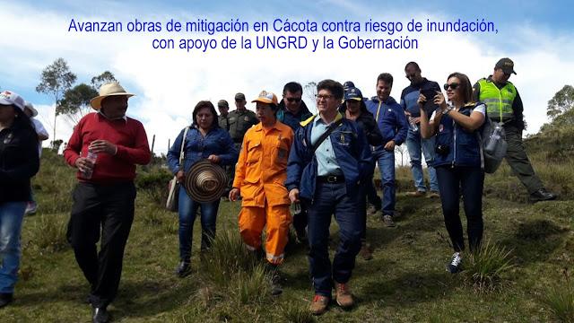 Gob-NdeS y UNGRD evitan riesgos por inundación en Cácota #RSY #OngCF