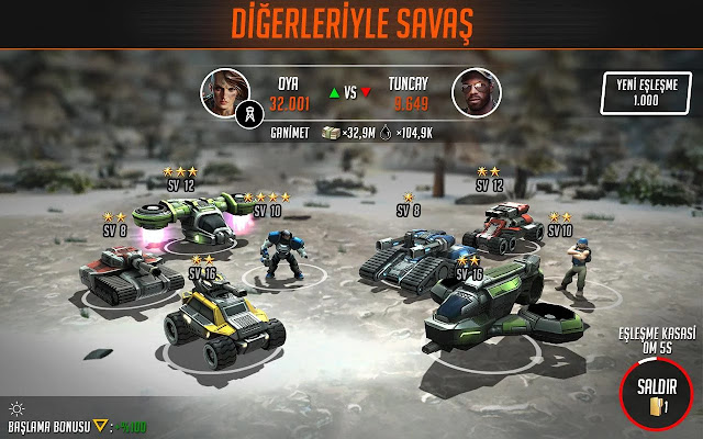League of War Mercenaries apk hile