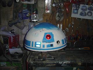 dome r2d2 droid