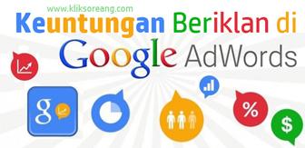 Keuntungan Beriklan di Google Adwords