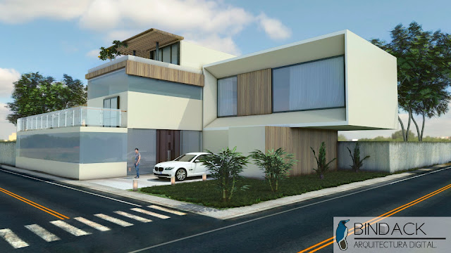 Render Bindack arquitectura digital
