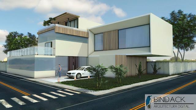 Bindack arquitectura digital portafolio casa new deep for Portafolio arquitectura
