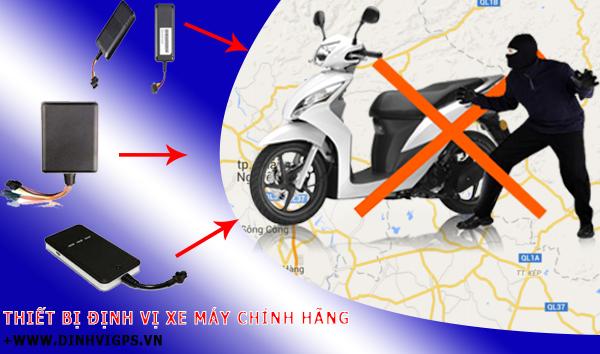 Giới thiệu thiết bị định vị cho xe máy