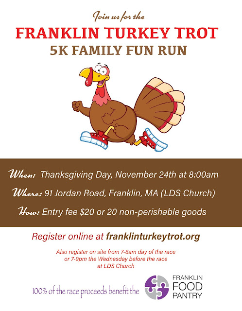 Franklin Turkey Trot Helps Feed Those in Need - Nov 24
