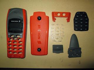 Casing Ericsson R310s Hiu Jadul Fullset Mulus Barang Langka
