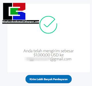 cara mengirim uang lewat paypal terbaru tanpa ongkos kirim