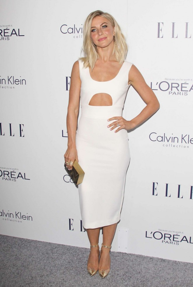 Julianne Hough shows physique at the Elle Women in Hollywood Awards