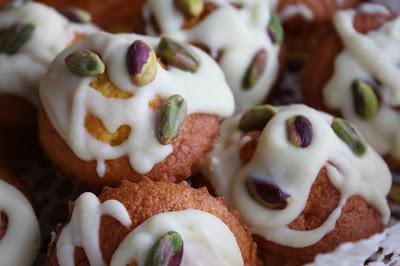 muffins alla zucca con ganache al cioccolato bianco