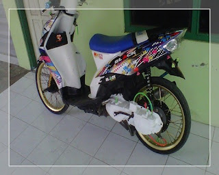 modifikasi motor mio j modifikasi motor mio sporty