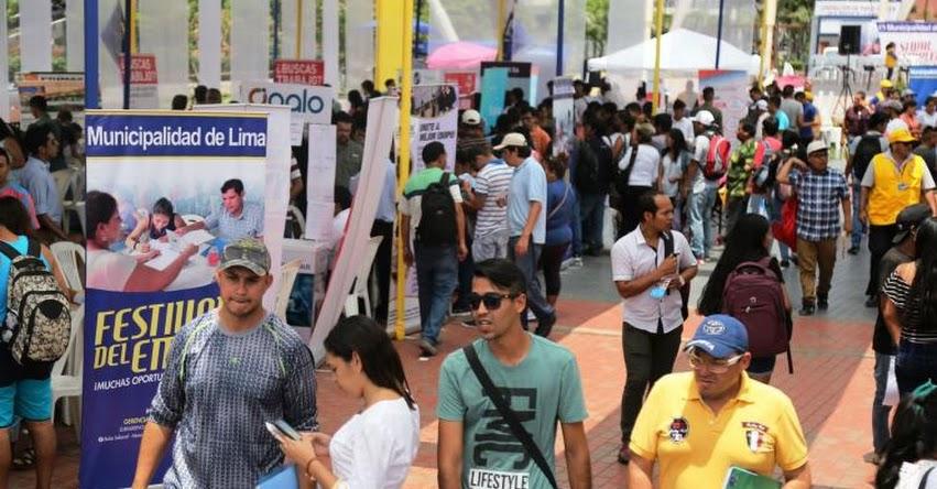 Más de 3 mil puestos de trabajo ofrecerá este viernes 27 en Parque la Muralla la Municipalidad de Lima