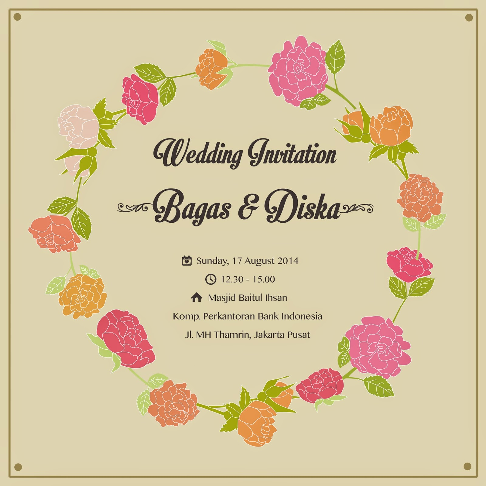 Wedding Invitation Indonesia | PaperInvite