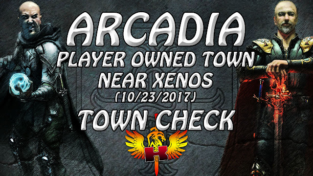 Shroud Of The Avatar Town Check (10/23/2017) 🏠 Player Owned Town Of Arcadia In Elysium Region
