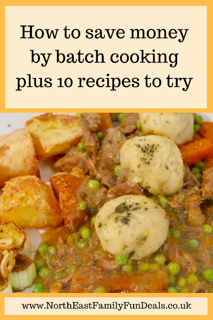 How to save money by batch cooking plus 10 recipes to try