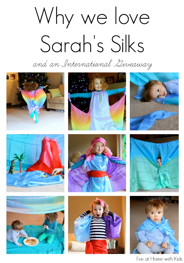 Come learn about Sarah's Silks and enter an International Giveaway - two chances to win.  Giveaway open until January 27, 2014.