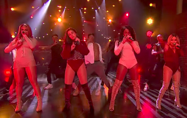 Fifth Harmony Perform 'He Like That' on Late Late Show