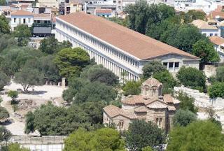 Museo del Ágora Antigua en la Stoa de Átalo.