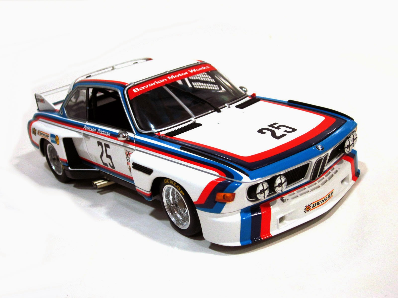 BMW 3.5 IMSA #25 Winner 24 Hours Sebring '75 - Minichamps