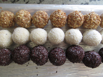 Trufas de chocolate blanco Thermomix