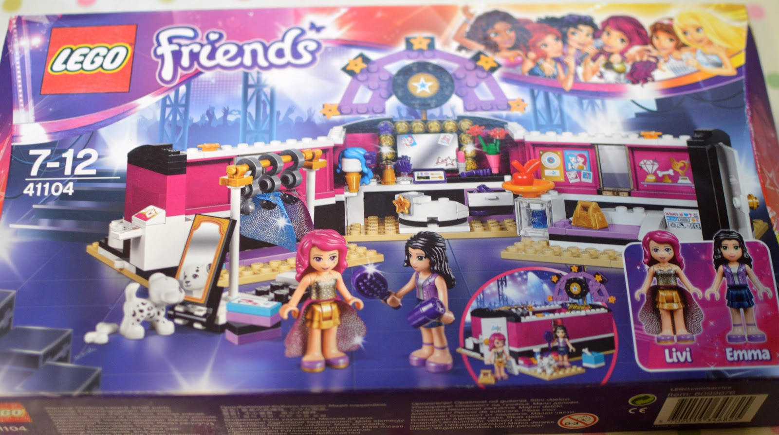 Lego Friends Pop Star Dressing Room Review 41104 Diary Of The