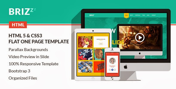 Bootstrap One Page HTML Template
