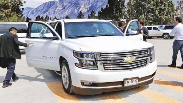 Gobernador de Coahuila se gasta 25 millones en camionetas blindadas, cada una vale mas de 3 millones de pesos