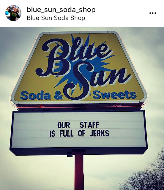 Blue Sun Soda on Instagram