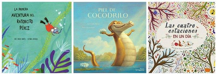 mejores cuentos y libros infantiles del 2016, ratoncito peréz, piel cocodrilo, estaciones día