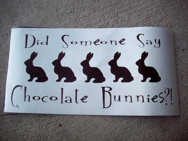 chocolate bunny vinyl