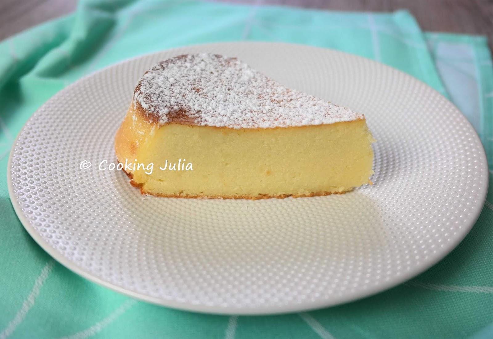 Cooking Julia Migliaccio Le Gateau De Semoule Italien A La Ricotta