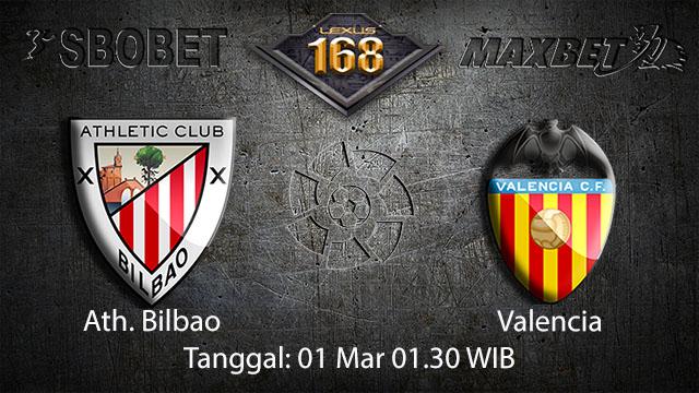 PREDIKSIBOLA - PREDIKSI TARUHAN BOLA ATH. BILBAO VS VALENCIA 1 MARET 2018 ( SPANISH LA LIGA )